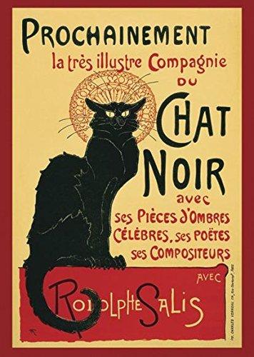 Close Up Le Chat Noir Poster (61cm x 91,5cm)