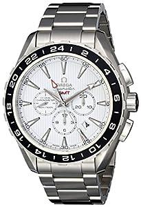 Omega Men's 231.10.44.52.04.001 Seamaster Aqua Terrra White Dial Watch image