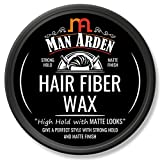 Man Arden Hair Fiber Wax - Strong Hold with Matte Finish - 50gm
