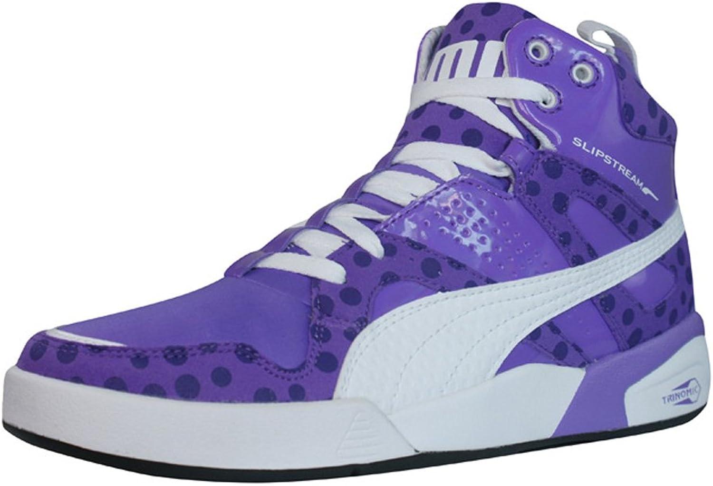 Puma FTR Slipstream Lt Fluo Womens Leather Sneakers shoes - Purple