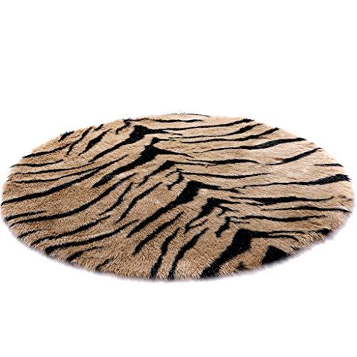 CarPET LHY- Lange haar pad, tijger luipaard deurmat, woonkamer, lang haar Slaapbank slaapkamer studie vloer mat Non-slip