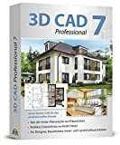 3D CAD 7 PRO - 2D und 3D Zeichenprogramm für Architekten - Hausplaner, Wohnungsplaner, technische Zeichnungen - Windows 10, 8.1, 7