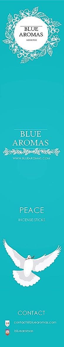 フォロー危険道路を作るプロセスBlue Aromas Peace Incense Sticks Agarbatti |Pack of 8, 10 Sticks in Each Pack Incense | Export Quality
