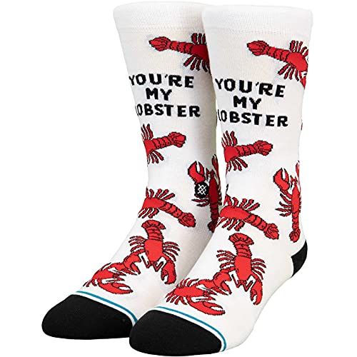 Stance You're My Lobster Socken (43-47, white, numeric_43)