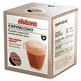 40 Capsule compatibili Nescafè Dolce Gusto Ristora Cappuccino Senza LATTOSIO (10cps. * 4 scatole)