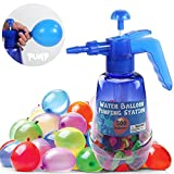 Liberty Imports Water Balloon Pumping Station with 500 Water Balloons and Water...