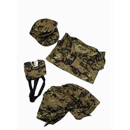 Special Forces Camos / Outfit to fit 14 to 18 Build a Bear / Bear Factory by The Bear Factory