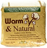 Warm Company Warm Company Warm & Natural Cotton Batting Queen Size 90'X108' 2341