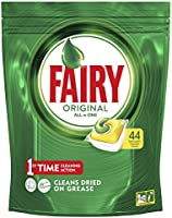 Up to 50% off select Fairy Dishwashing Tablets. Discount applied in prices displayed.