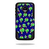 MightySkins Skin Compatible with OtterBox Commuter Moto Z Force Droid Case wrap Cover Sticker Skins Rainbow Brains Out