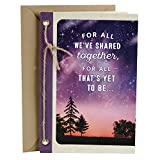 Hallmark Love Card, You Mean the World to Me (Romantic Anniversary Card, Fathers Day Card, or Birthday Card)