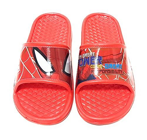 Flip-Flop Spiderman Marvel Sandales de plage pour enfant - Rouge - rouge, 30/31 EU EU