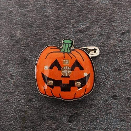 Gather together D 30#Halloween Decoration Atmosphere Night Lamp Festival Decoration Ornament Pendant Halloween Pumpkin Ghost Led Light Ornament
