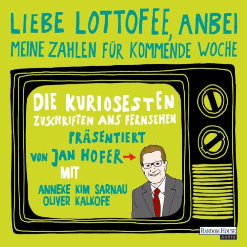 『Liebe Lottofee, anbei meine Zahlen für kommende Woche』のカバーアート