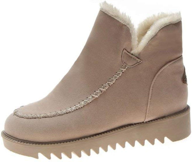 Boots Women's Winter Warm Flat Non-Slip Thick Snow