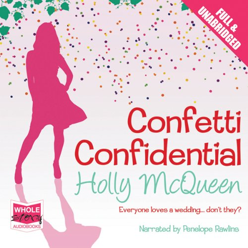 Confetti Confidential audiobook cover art