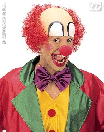 Widmann Perruque carnaval : perruque Clown droly - Taille Unique