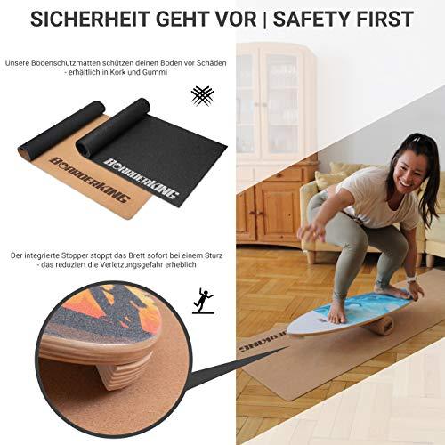 Balance Board Floor Protection Mat Daffy Boards
