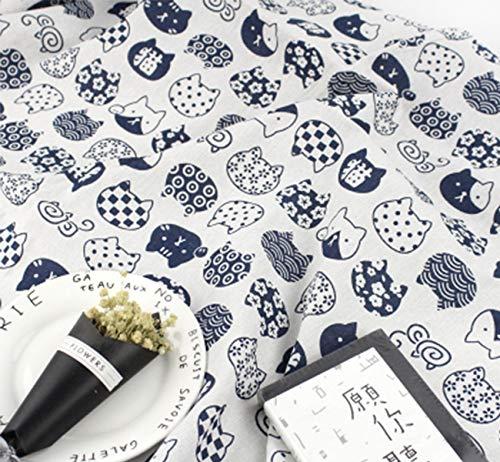 ONECHANCE Tela algodón Mantel tela Cubiertas