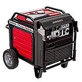 Honda 660270 7,000 Watt Super Quiet Portable Inverter Generator with Electric Start