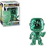 Funko Pop! – 36218 – Marvel: Avengers Infinity War – Thanos (Chrome - Verde) – Figura de Vinilo, 9cm