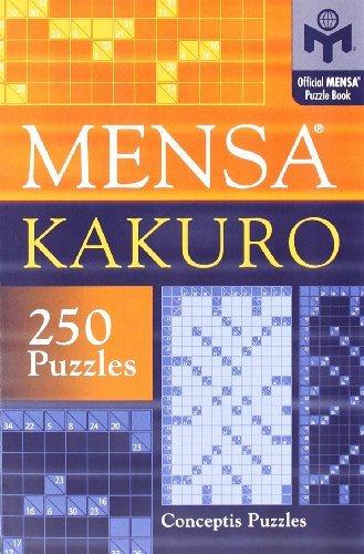 Mensa® Kakuro by Conceptis Puzzles (2006-08-28)