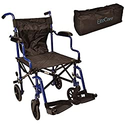 Elite Care Lightweight Folding Wheelchair