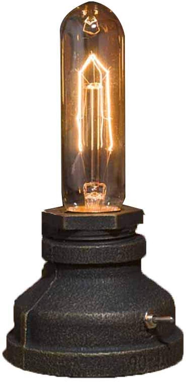 Schreibtischlampen Schreibtischlampe Nachttischlampen Nachtlichter Innenbeleuchtung Beleuchtung Edison Creative Retro Industrial Study Nachtlicht ZHAOYONGLI (Farbe   Lamp-2, gre   Button Switch)