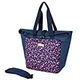 More Than a Lunch Bag ---- This MIER lunch tote you could put your ID and other necessities, as well as your lunch. You would not need to also carry a purse. It can carry several breakfast, lunch, and snack items and all the necessities quite easily ...