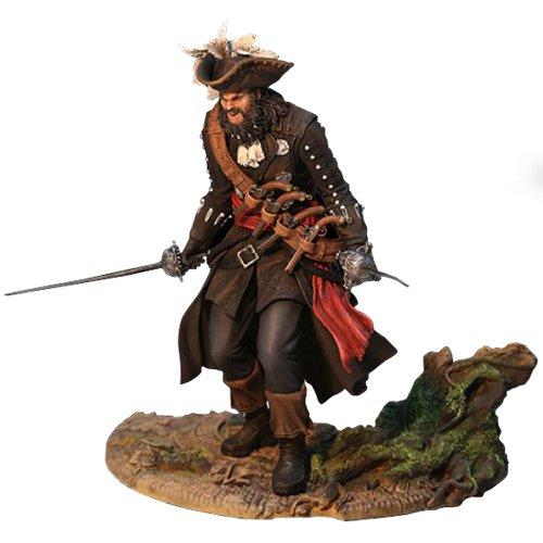 - Figurine Assassin's Creed IV - Black Flag- Personnage de Blackbeard : Legendary Pirate- Figurine