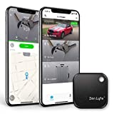 Key Finder, Zen Lyfe/SwiftFinder Classic Key Finder Locator Bluetooth Tracker Device for Car Key/Wallets/Backpack/Luggage/Bags/Umbrella/Sports Bottle/TV Remotes with APP Control (Black)