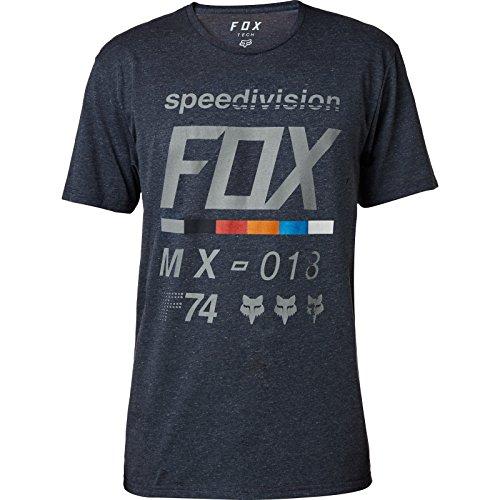 Fox T-shirt draftr Tech Heather Midnight Taille M