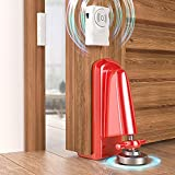 Portable Door Lock for Apartment Travel丨Aluminum Alloy Door Jammer丨Anti-Slip Stopper Security Door Locker Device丨Perfect Tool for Home Safety, Bedroom, Hotel Rooms, Outward Opening Door, Any Door