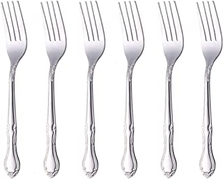 Buyer Star Stainless Steel Classic Dinner Fork Set, Commercial Quaility Table Forks for Wedding, Party, Dishwasher Safe, S...