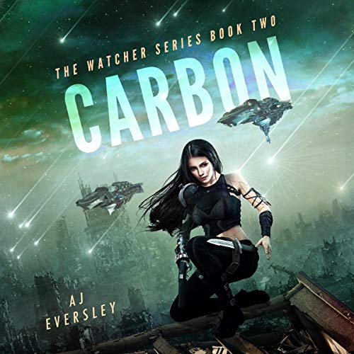 Carbon audiobook cover art