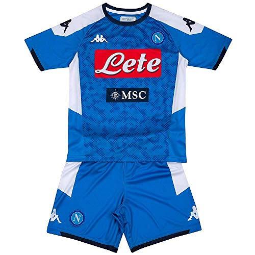 BrolloGroup Completo Calcio SSC Napoli Bambino Personalizzabile Kit Azzurro PS 36689 (12 Anni)