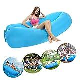 Air Lounger Aufblasbares Sofa , Wasser luftsofa mit 2 luftsack , Luft Couch mit Tragebeutel für...