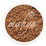 Mahya Mineral Makeup Loose Mineral Foundations Net Weight: 0.3 oz / 10 g by Mahya Cosmetics (Sun Tan)
