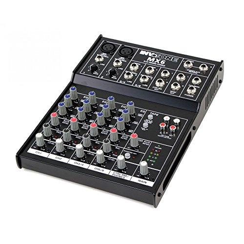 Invotone MX6 Mesa de mezclas de 6 canales