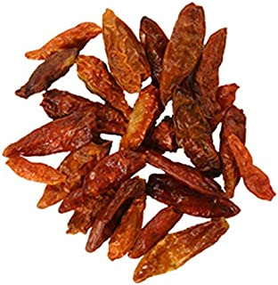 Frontier Co-op Chili Peppers Whole, Birdseye Chilies, 1 lb. Bulk Bag