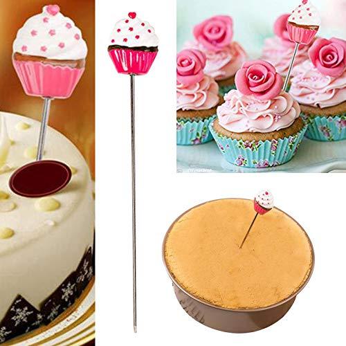 Cake Tester, 2 Stuks Huishouden Roestvrij Staal Leuke Bakken Gereedschappen Sonde Spiesjes Koken Gereedschap Brood Cake