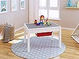 UTEX Dulux 2 In 1 Kinder Bau Play Tisch,weiß