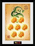 1art1 Dragon Ball - Dragon Balls Póster De Colección Enmarcado (40 x 30cm)