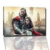 thor the dark world Bild auf Leinwand -- 120x80 cm fertig