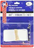 "Maxant Belting Kit 1.25""X44""-White"