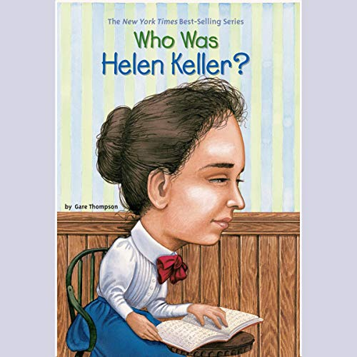 『Who Was Helen Keller?』のカバーアート