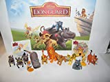 LotsOhFun The Lion Guard Figure Set Toy Kit with 12 Figures and 2 LK Stickers with All 5 Lion Guards, King Simba, Pumba, Simon, Hyenas and More!