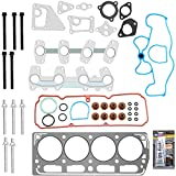 ECCPP Cylinder Head Gasket Bolts Set Replacement for 1998-2003 1999 2000 2001 2002 for Chevrolet S10 Cavalier 2.2L 134CID 8v VIN 4 5