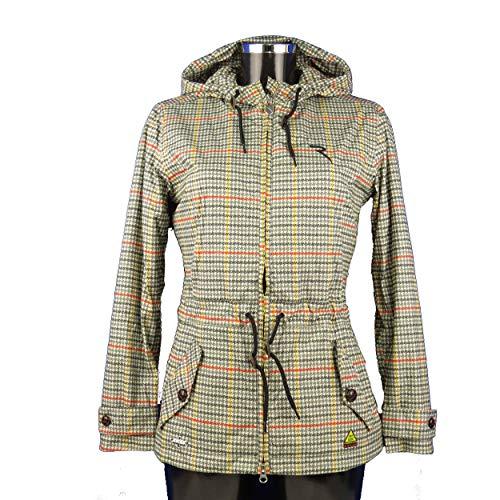 Chervo Golf Dames regenjas AQUABLOCK Mail beige patroon 40L nieuw