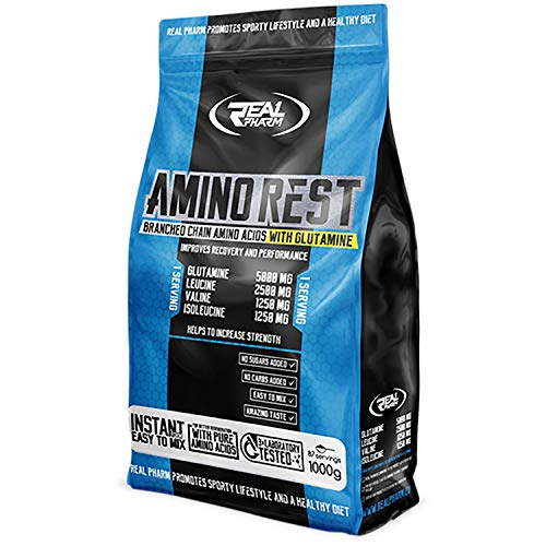Real Pharm Amino Rest, Instant BCAAs Formula (Orange, 1000g)